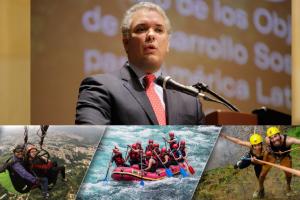 """""""Santander y su turismo tiene todo el potencial"""" Presidente Ivan Duque"""
