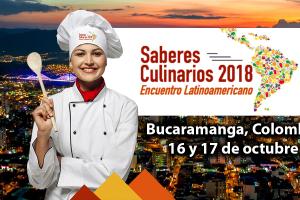 Saberes Culinarios 2018 Gran evento académico gastronómico