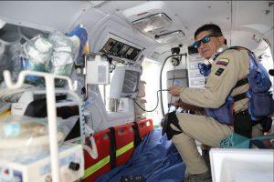 El primer Helicóptero Medicalizado del país está en Bucaramanga