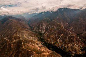 Así se ve el majestuoso Cañón del Chicamocha desde el aire