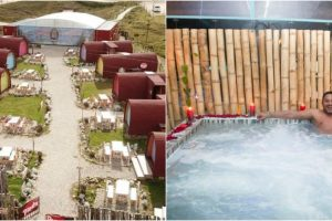 En Santander está el único eco-spa de páramo del mundo