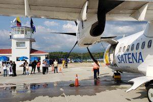 Aeropuerto de Aguachica recibió su primer vuelo comercial luego de 30 años de abandono