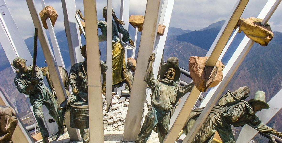 """Monumento a la """"Revolución Comunera"""""""
