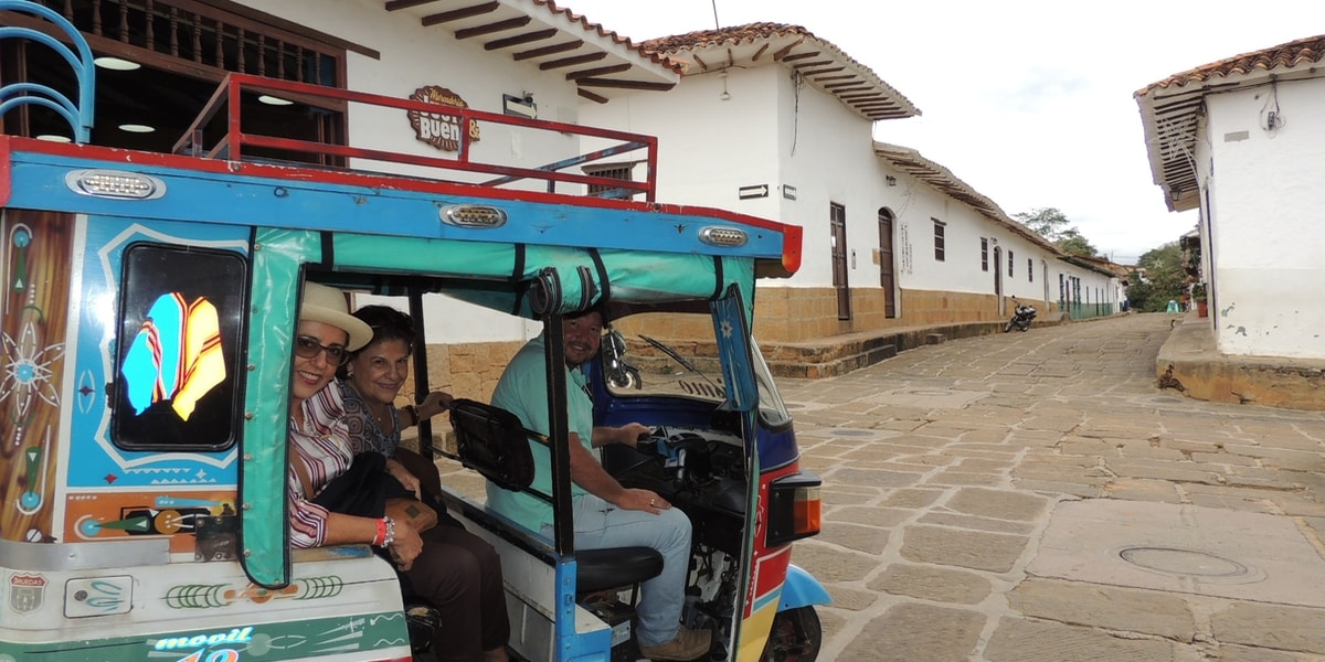 Tuc Tuc transporte típico