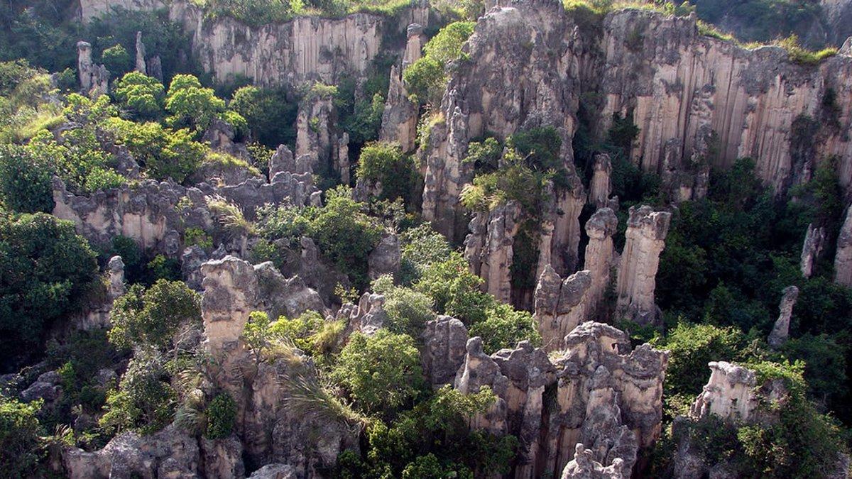 parque natural Los Estoraques