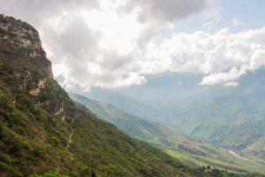 Así es la vida entre los abismos del cañón del Chicamocha